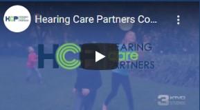 A screenshot preview of the Hearing Care Partners video on mobile